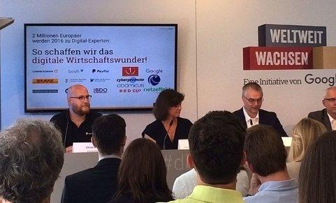 """Impressionen Google Digital-Workshop """"Weltweit wachsen"""" in München am 24.6.2016"""