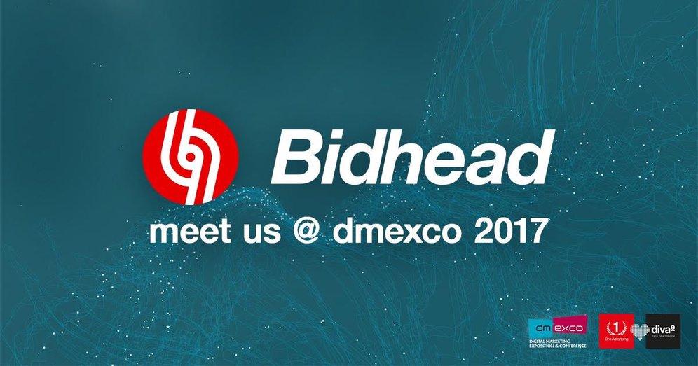 Bidhead –Meet us at DMEXCO 2017