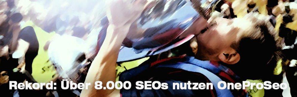 8.000ster User nutzt SEO Tool – Ranking Check jetzt für 26 Länder