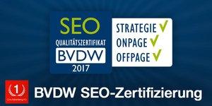BVDW-Zertifikat SEO