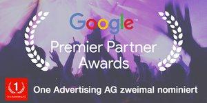 Google Premier Partner Awards 2016 Nominierung