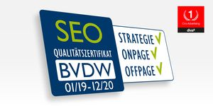 SEO Qualitätszertifkat des BVDW