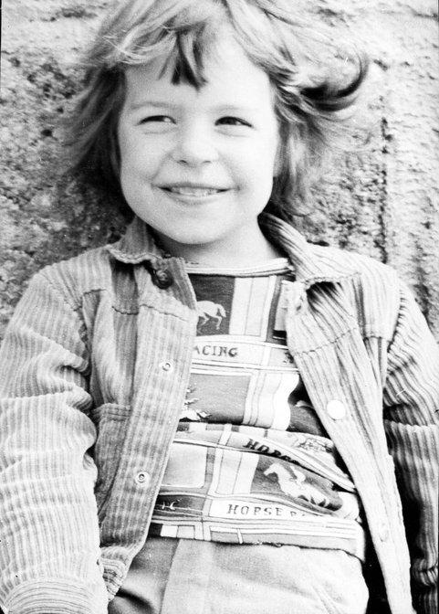 Erste Erfolge als Fotomodel in den 70ern