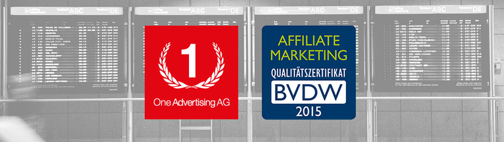 One Advertising AG erhält Affiliate Marketing Qualitätszertifikat des BVDW
