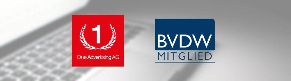 One Advertising AG ist Mitglied des BVDW