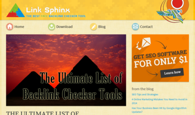 TOP Backlink Checker Tools im Überblick