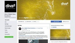 diva-e auf Facebook