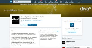 diva-e auf LinkedIn Business