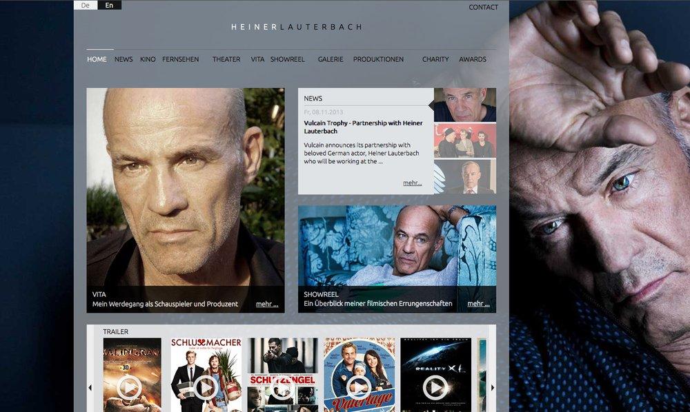 Die neue Website von Heiner Lauterbach