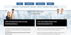 Online-Karrieretag München Programm
