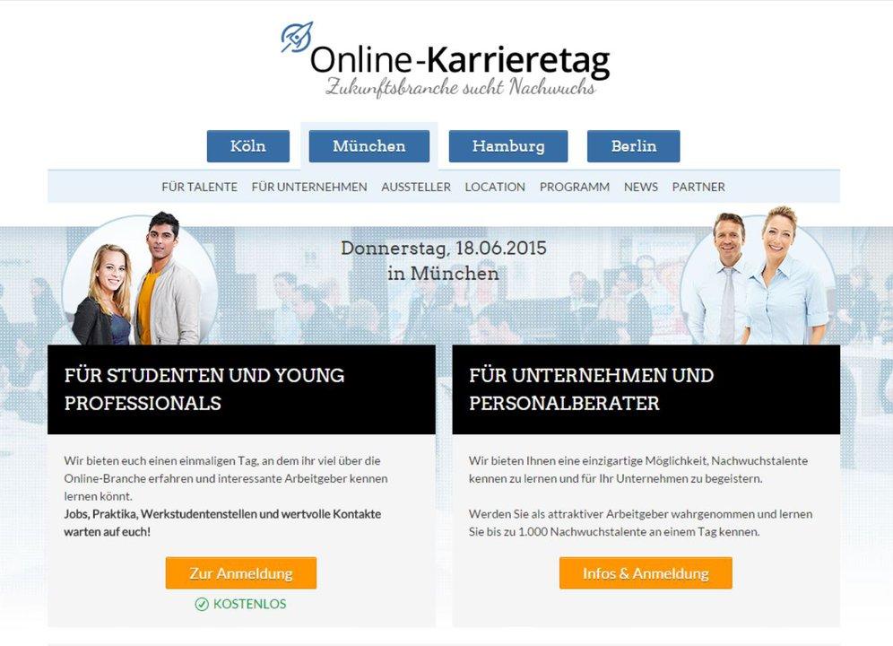 online-karrieretag.de Programm München