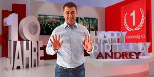 10 Jahre bei der One Advertising AG: Andrey Cekovski