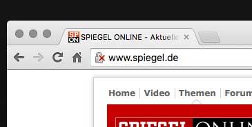 Nicht sichere Verbindungen werden zukünftig in Chrome angezeigt.