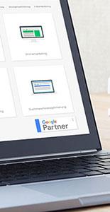 Neue Partner-Logos bei Google