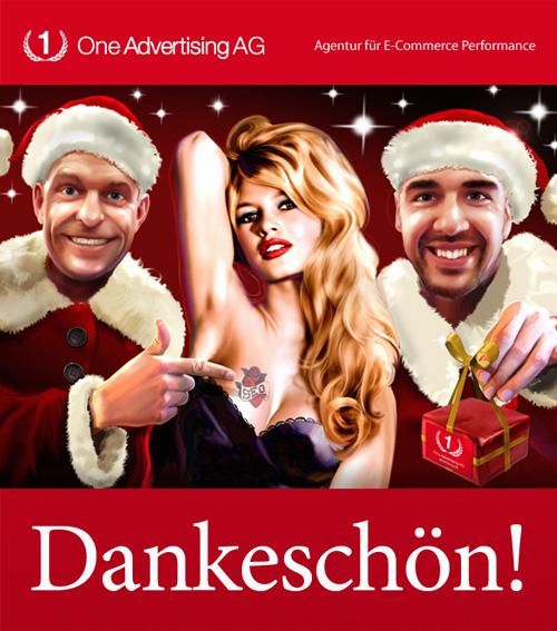 Weihnachtskarte 2010