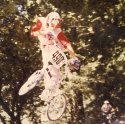Nach erfolgreicher gescheiterter BMX-Karriere 1982 - dann doch besser MAC